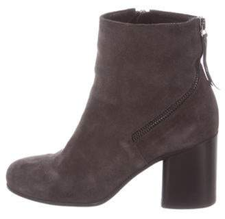 Alberto Fermani Suede Ankle Boots Grey Suede Ankle Boots