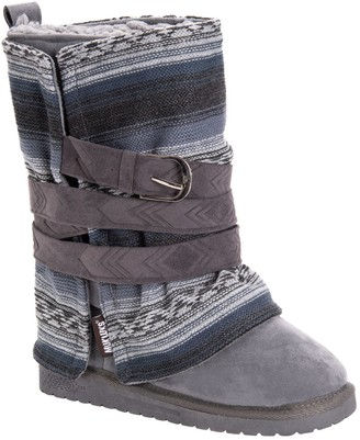 Muk Luks Women's Removable Wrap Mid-Calf Boots- Rebecca