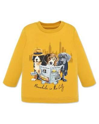 Mayoral Boy's Dogs in the City Graphic Long-Sleeve Tee, Size 12-36 Months