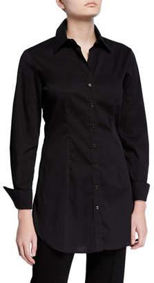 Finley Kaylynn Easy Button-Front Tunic Shirt