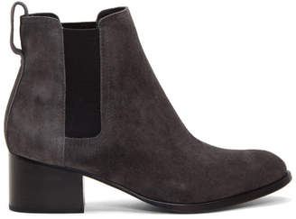 Rag & Bone Grey Suede Walker Boots