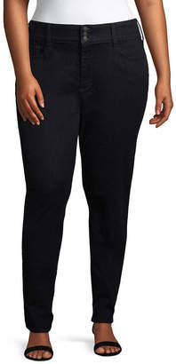 Boutique + + Slim Fit High Rise Jeggings - Plus