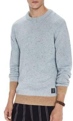 Scotch & Soda Logo-Patched Sweater