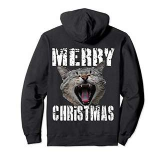 Merry Chritstmas Hoodie Kitty Best Prank Gift Ideas