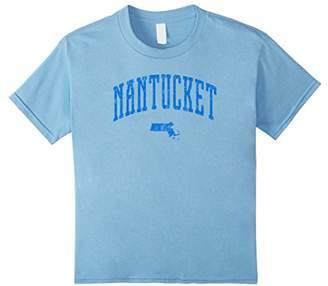 Nantucket Massachusetts Vintage City T-Shirt