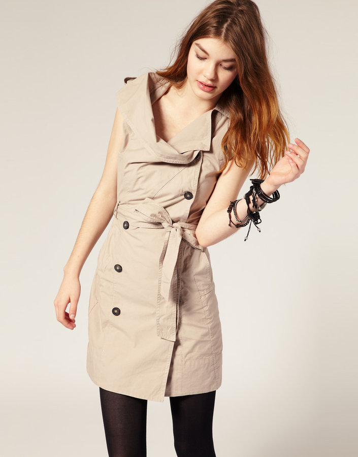 All Saints Anais Trench Dress
