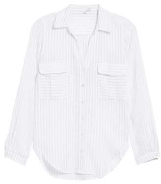 Ten Sixty Sherman Shadow Stripe Shirt