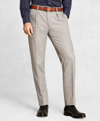 Brooks Brothers Golden Fleece Wool Flannel Trousers