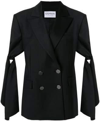 Osman oversized tailored tuxedo jacket