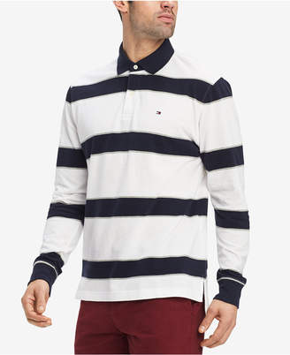 Tommy Hilfiger Men's King Striped Classic Fit Polo Shirt