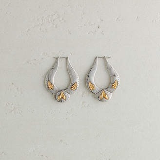 Maje Western-style earrings