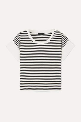 J.Crew Striped Knitted T-shirt - Ivory