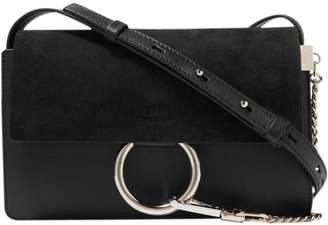 Chloé Faye Shoulder Bag Small Black