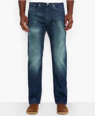 Levi's Men's 505 Regular-Fit Jeans, Cash