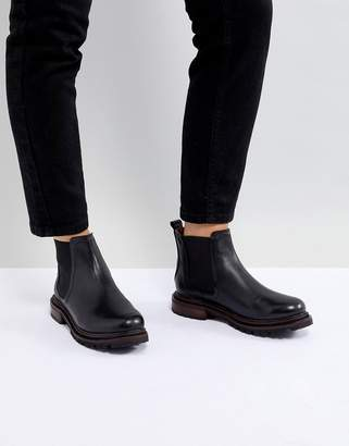 H By Hudson Leather Chelsea Boots
