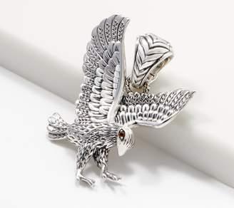 Jai JAI Sterling Silver & Citrine Born to Soar Eagle Enhancer