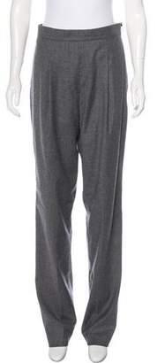 Neil Barrett High-Rise Wool Pants