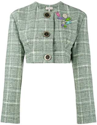 Natasha Zinko cropped tweed jacket