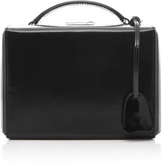 Mark Cross Grace Small Leather Box Bag