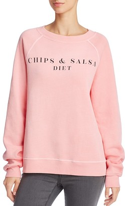 WILDFOX Chips & Salsa Pullover $114 thestylecure.com