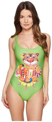Moschino Ballon Tiger Maillot Women's Swimsuits One Piece