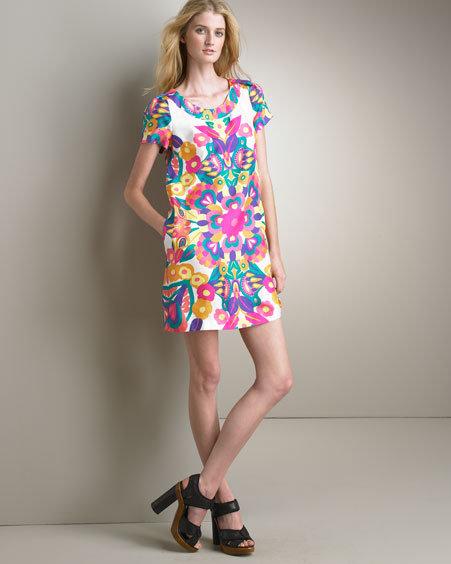 See by Chloe Silk Shift Dress