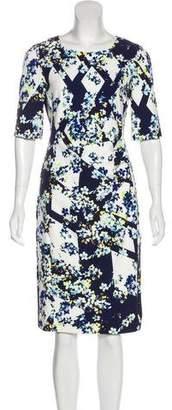 LK Bennett Midi Sheath Dress