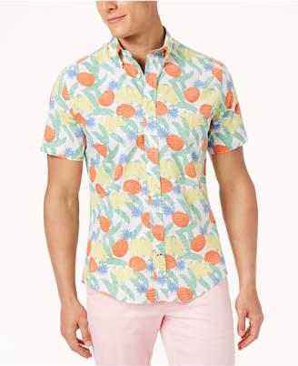 Tommy Hilfiger Men's Big & Tall Banana Tropic Shirt