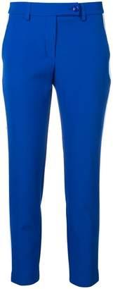 Blugirl side stripe skinny trousers