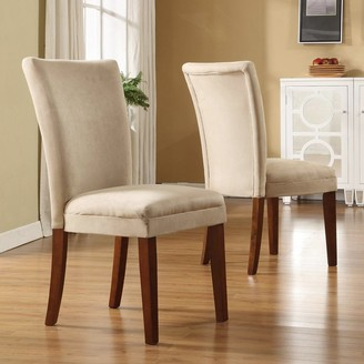 Homevance HomeVance 2-pc. Parsons Side Chair Set