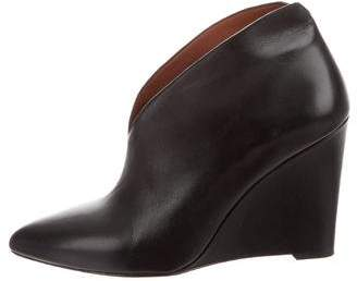 Marc by Marc Jacobs Leather Pointed-Toe Booties