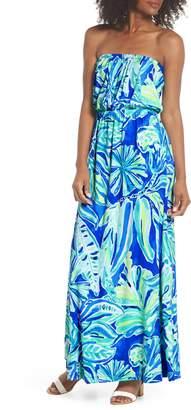 Lilly Pulitzer R) Marlisa Strapless Maxi Dress