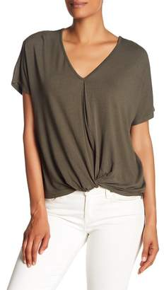 Bobeau Twist Top Tee