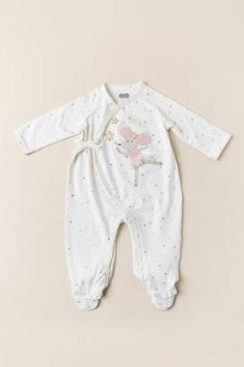 Mud Pie Sparkle Mouse Footed Sleeper