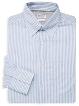 Brunello Cucinelli Pinstripe Dress Shirt