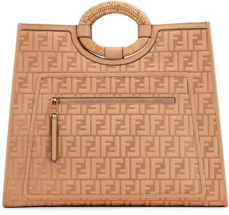 Fendi Runaway FF 1974 Large Shopping Tote Bag