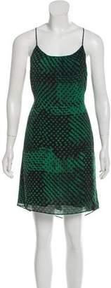 Theory Silk Patterned Dress