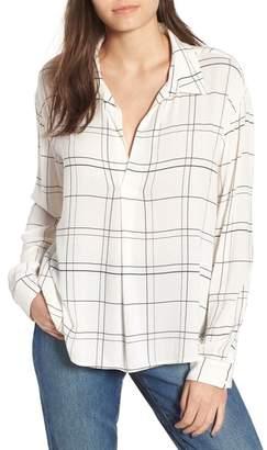 Leith Henley Woven Shirt