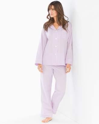 BedHead Woven Cotton Pajama Set