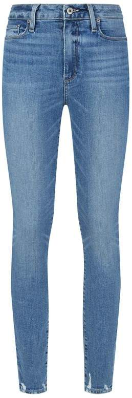 Hoxton Worn Skinny Jeans