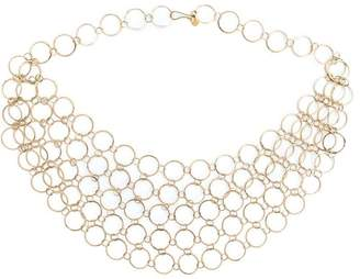Melissa Joy Manning circle link collar necklace