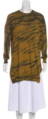 Raquel Allegra Cashmere-Blend Long Sleeve Top