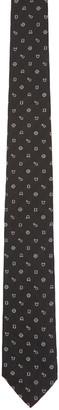 Kenzo Black Printed Tie $100 thestylecure.com