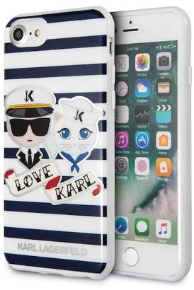Karl Lagerfeld Sailors Stripes iPhone 7 & iPhone 8 Case