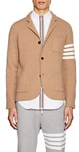 Thom Browne Men's Camel Hair Three-Button Sportcoat-Beige, Tan