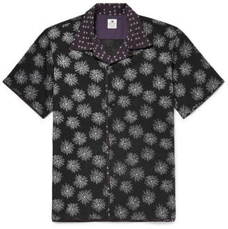 SASQUATCHfabrix. Camp-Collar Printed Lyocell-Blend Shirt