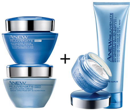 Avon ANEW REJUVENATE 4-Piece Special Offer