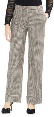 Vince Camuto Estate Jewels Printed Wide-Leg Pants