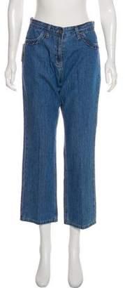 Paul & Joe Sister Mid-Rise Wide-Leg Jeans w/ Tags