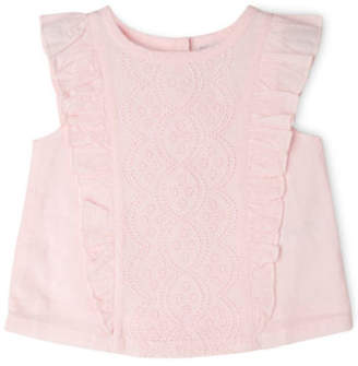 Sprout NEW Broderie Top TGS19032 Lt Pink